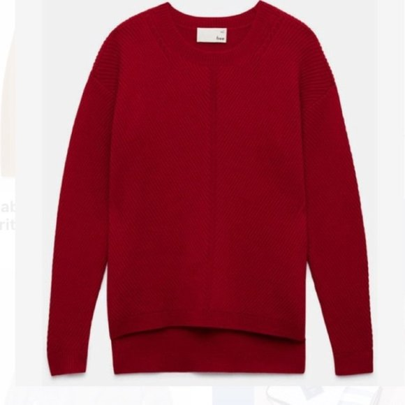 Wilfred Free Red Sweater